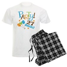 27 Rocks 27th Birthday Pajamas