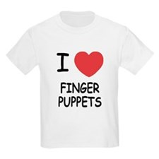 I heart finger puppets T-Shirt