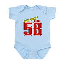 MS58SS2 Infant Bodysuit