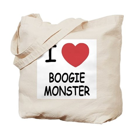 I heart boogie monster Tote Bag