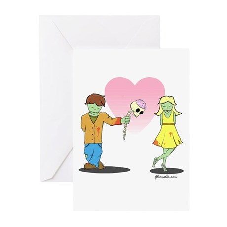 Zombie Card Greeting Cards (Pk of 10)