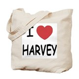 I heart harvey Tote Bag