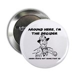 Dad The Decider Father's Day Button