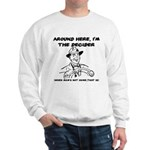 Dad The Decider Father's Day Sweatshirt