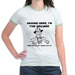 Dad The Decider Father's Day Jr. Ringer T-Shirt