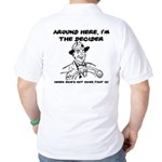 Dad The Decider Father's Day Golf Shirt