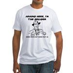 Dad The Decider Father's Day Fitted T-Shirt