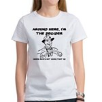 Dad The Decider Father's Day Women's T-Shirt