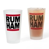 RUM HAM Drinking Glass