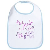 Daddy's Little Piggy Bib