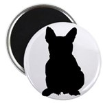 French Bulldog Silhouette Magnet