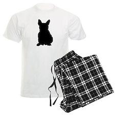 French Bulldog Silhouette Pajamas