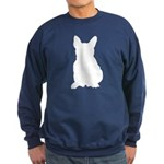 French Bulldog Silhouette Sweatshirt (dark)