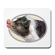 Potbellied Pigs Mousepad