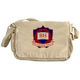 Buckner Hall Red Messenger Bag