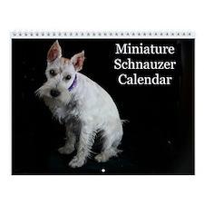 Miniature Schnauzer Calendar