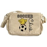 Soccer Chick Messenger Bag