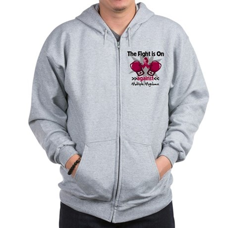 Fight Multiple Myeloma Zip Hoodie