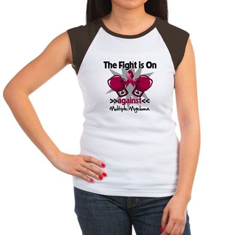 Fight Multiple Myeloma Women's Cap Sleeve T-Shirt