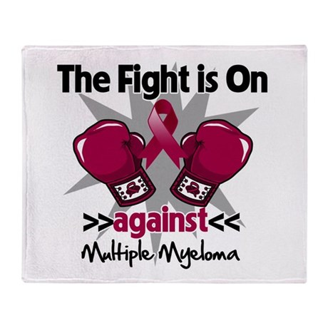 Fight Multiple Myeloma Stadium Blanket