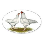 Ixworth Chickens Sticker (Oval 50 pk)