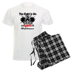 Fight is On Melanoma Men's Light Pajamas