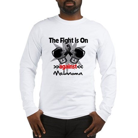 Fight is On Melanoma Long Sleeve T-Shirt