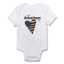 All American Kid Infant Creeper