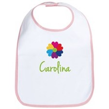 Carolina Valentine Flower Bib