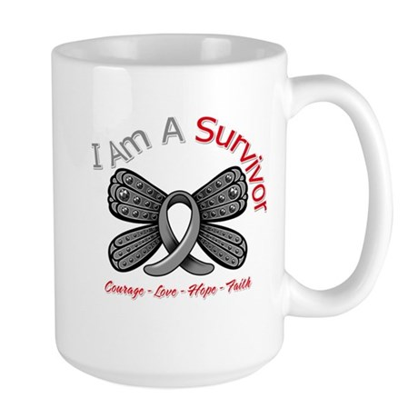 Parkinsons Disease Survivor Large Mug