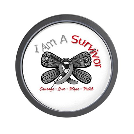 Parkinsons Disease Survivor Wall Clock
