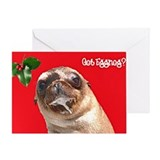 """Got Eggnog?"" Seal Card"