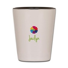 Jaclyn Valentine Flower Shot Glass