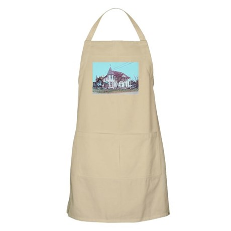 Old House on the Corner BBQ Apron