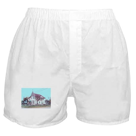Old House on the Corner Boxer Shorts