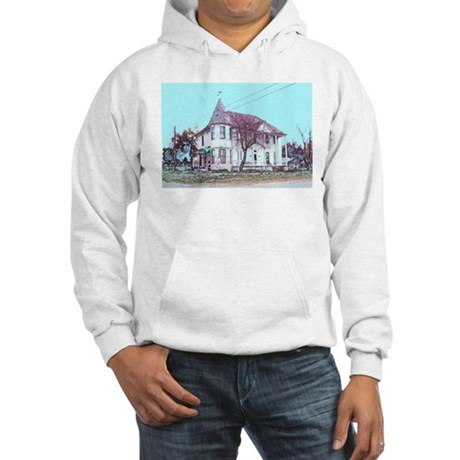 Old House on the Corner Hooded Sweatshirt