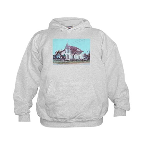 Old House on the Corner Kids Hoodie