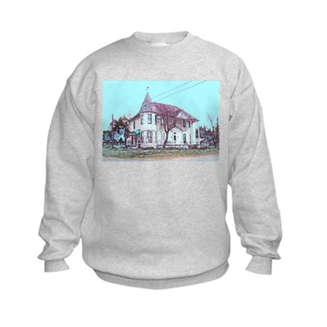 Old House on the Corner Kids Sweatshirt