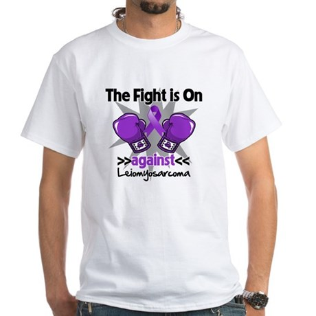 Fight Leiomyosarcoma White T-Shirt