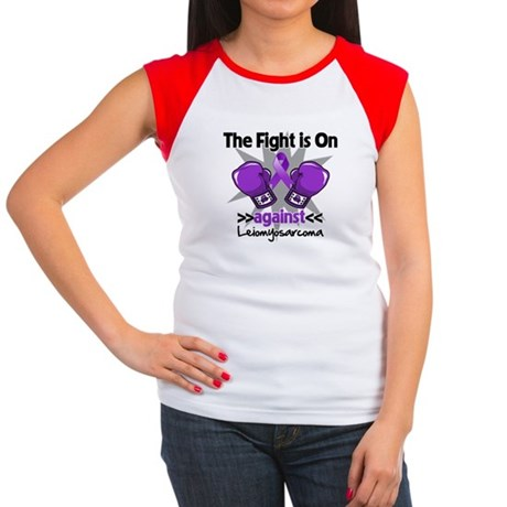 Fight Leiomyosarcoma Women's Cap Sleeve T-Shirt