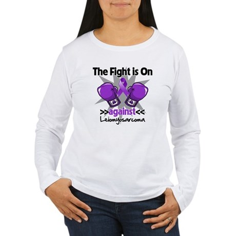 Fight Leiomyosarcoma Women's Long Sleeve T-Shirt