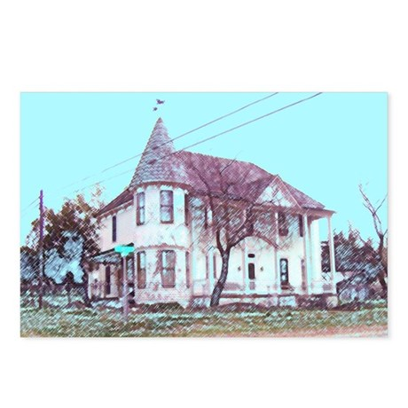 Old House on the Corner Postcards (Package of 8)
