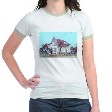Old House on the Corner Jr. Ringer T-Shirt
