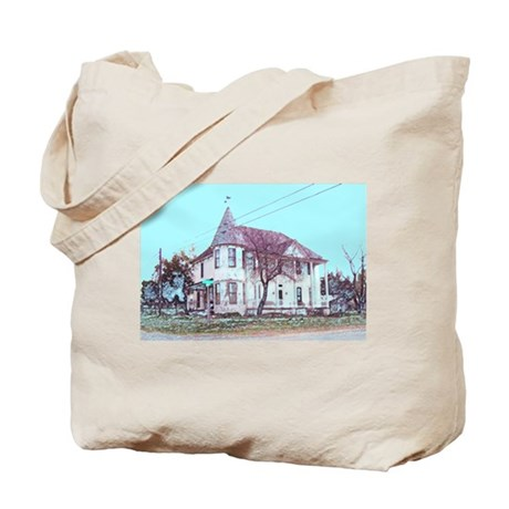 Old House on the Corner Tote Bag