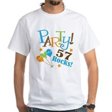 57 Rocks 57th Birthday Shirt