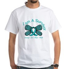Ovarian Cancer I'm A Survivor Shirt