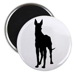 Great Dane Silhouette Magnet