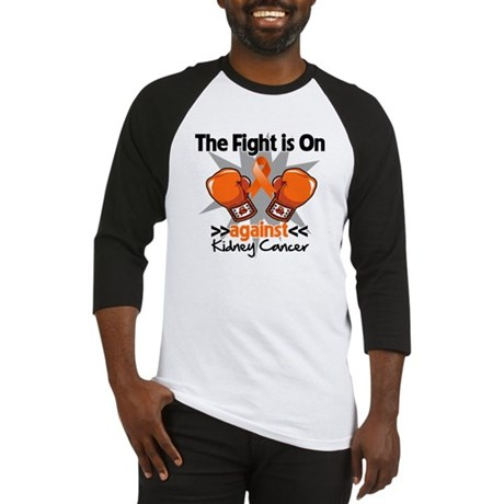 Kidney Cancer Fight Baseball Jersey