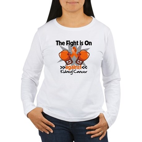 Kidney Cancer Fight Women's Long Sleeve T-Shirt