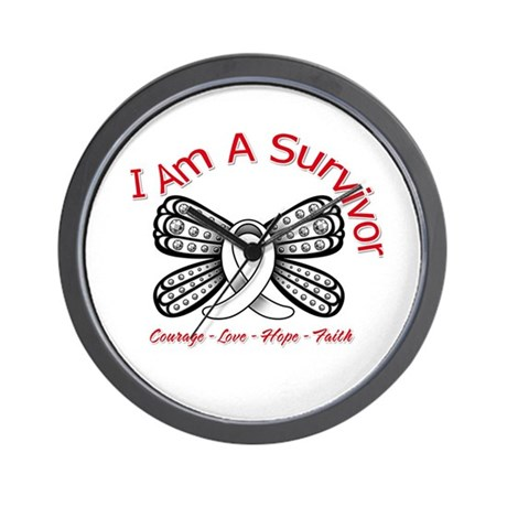 Neuroblastoma I'm A Survivor Wall Clock